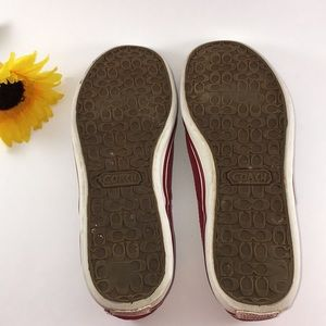 Coach Shoes - Coach Suede 'Katrina' Slip On Sneakers